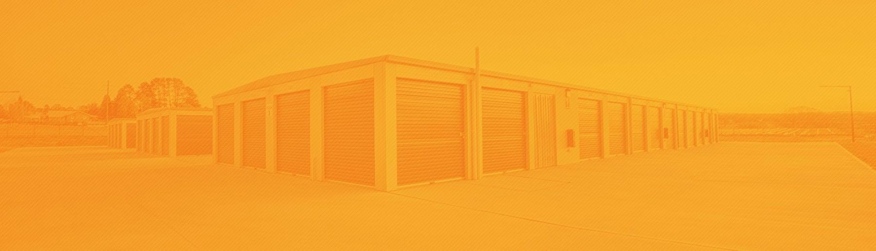 outdoor storage units with orange overlay