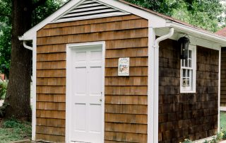 Brown shed